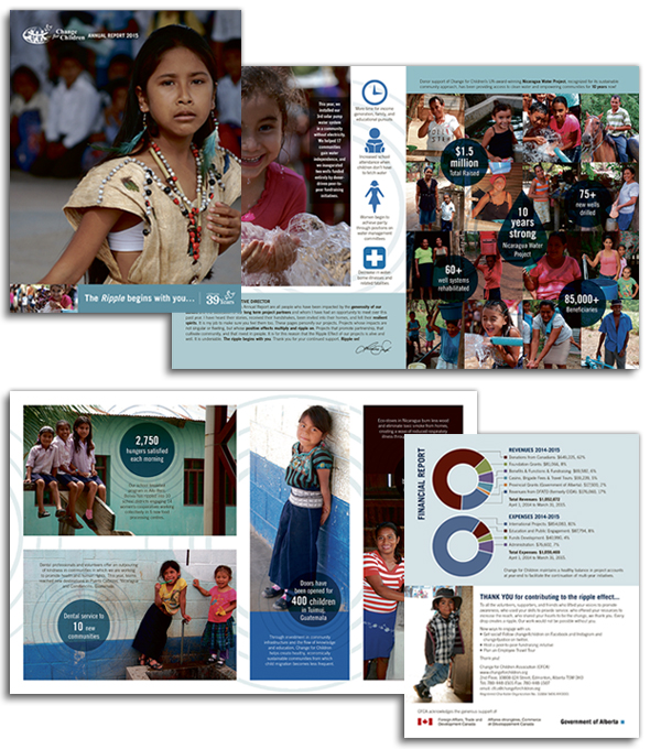 Change for Children 2015 Annual Report